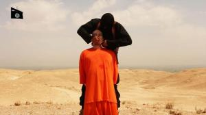 Still from James Foley's execution video.