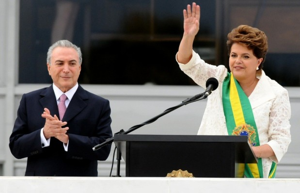 Dilma Rousseff and Michel Temer. (Source)